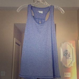 Blue Head size S athletic top